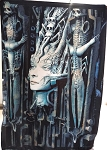 H.R. GIGER Li Medusa FLAG CLOTH POSTER WALL TAPESTRY Alien Prometheus