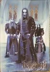 BEHEMOTH Demigod 1 FLAG BANNER CLOTH POSTER Black Death Metal