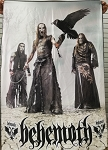 BEHEMOTH Demigod 3 FLAG BANNER CLOTH POSTER Black Death Meta