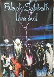 BLACK SABBATH Live Evil 2 - Ozzy FLAG CLOTH POSTER WALL TAPESTRY