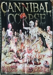 CANNIBAL CORPSE Gore Obsessed FLAG CLOTH POSTER Death Meta