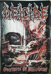 DEICIDE Overtures of Blasphemy FLAG CLOTH POSTER DEATH METAL