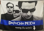 DEPECHE MODE Touring the Angel FLAG CLOTH POSTER NEW WAVE