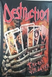 DESTRUCTION Thrash Till Death FLAG CLOTH POSTER THRASH METAL