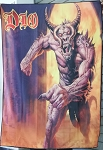 DIO The Very Beast Vol 2 FLAG CLOTH POSTER WALL TAPESTRY BANNER CD Hard Rock