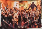 DIO This Is Your Life FLAG CLOTH POSTER WALL TAPESTRY BANNER CD Hard Rock