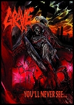GRAVE You'll Never See... FLAG CLOTH POSTER TAPESTRY BANNER CD DEATH METAL