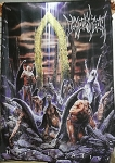 IMMOLATION Here In After FLAG BANNER CLOTH POSTER Death Metal