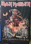 IRON MAIDEN Legacy of the Beast Tour 2019 FLAG CLOTH POSTER WALL TAPESTRY Heavy Metal