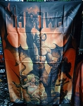 MANOWAR Hell On Earth FLAG BANNER CLOTH POSTER WALL TAPESTRY CD Power Metal