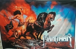 MANOWAR King of Kings FLAG BANNER CLOTH POSTER WALL TAPESTRY CD Power Metal