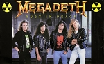 MEGADETH Rust in Peace Band FLAG CLOTH POSTER Thrash