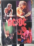 AC/DC Angus Young FLAG CLOTH POSTER WALL TAPESTRY