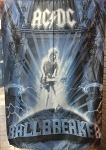 AC/DC Ballbreaker FLAG CLOTH POSTER WALL TAPESTRY