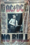 AC/DC No Bull FLAG CLOTH POSTER WALL TAPESTRY