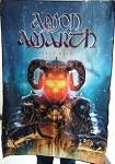 AMON AMARTH First Kill FLAG CLOTH POSTER WALL TAPESTRY BANNER Viking Metal