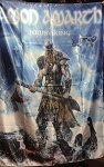 AMON AMARTH Jomsviking FLAG CLOTH POSTER WALL TAPESTRY BANNER Viking Metal