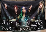 ARCH ENEMY War Eternal Tour FLAG CLOTH POSTER BANNER
