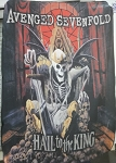 AVENGED SEVENFOLD Hail to the King FLAG CLOTH POSTER