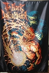 BLACK DAHLIA MURDER Acid Dunk FLAG CLOTH POSTER WALL TAPESTRY DEATH METAL