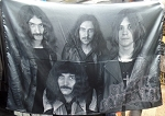 BLACK SABBATH Early Band Paranoid Ozzy FLAG CLOTH POSTER WALL TAPESTRY