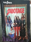 BLACK SABBATH Sabotage FLAG CLOTH POSTER WALL TAPESTRY
