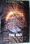 BLACK SABBATH The End World Tour FLAG CLOTH POSTER WALL TAPESTRY Ozzy