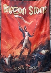 BLAZON STONE No Sign of Glory FLAG CLOTH POSTER WALL TAPESTRY CD Power Metal