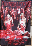 CANNIBAL CORPSE Butchered at Birth FLAG CLOTH POSTER WALL TAPESTRY DeathMetal