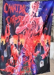 CANNIBAL CORPSE Eaten Back to Life FLAG CLOTH POSTER WALL TAPESTRY Death Metal