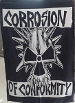 CORROSION OF CONFORMITY Eye for an Eye FLAG CLOTH POSTER WALL TAPESTRY Sludge CD