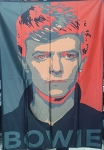 DAVID BOWIE Legacy FLAG CLOTH POSTER