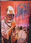 DEATH Leprosy FLAG CLOTH POSTER TAPESTRY BANNER CD DEATH METAL