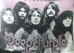 DEEP PURPLE Band FLAG CLOTH POSTER WALL TAPESTRY Hard Rock