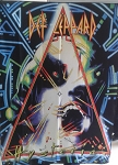 DEF LEPPARD Hysteria FLAG CLOTH POSTER WALL TAPESTRY Heavy Metal