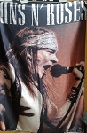 GUNS N' ROSES Axel Rose 2 FLAG BANNER CLOTH POSTER WALL TAPESTRY