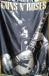 GUNS N' ROSES Slash FLAG BANNER CLOTH POSTER WALL TAPESTRY