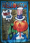 HELLOWEEN I Want Out FLAG CLOTH POSTER WALL TAPESTRY BANNER Power Metal