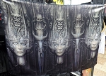 H.R. GIGER Li II FLAG CLOTH POSTER WALL TAPESTRY BANNER