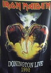 IRON MAIDEN Donington Live 1992 FLAG CLOTH POSTER WALL TAPESTRY Heavy Metal