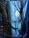 IRON MAIDEN Fear of the Dark FLAG CLOTH POSTER WALL TAPESTRY Heavy Metal