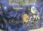 IRON MAIDEN Live After Death Horizontal FLAG CLOTH POSTER WALL TAPESTRY Heavy Metal