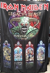 IRON MAIDEN Legacy of the Beast Euopean Tour 2018 Vertical FLAG CLOTH POSTER WALL TAPESTRY Heavy Metal