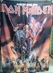 IRON MAIDEN Maiden England FLAG CLOTH POSTER WALL TAPESTRY Heavy Metal