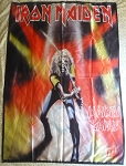 IRON MAIDEN Maiden Japan FLAG CLOTH POSTER WALL TAPESTRY Heavy Metal