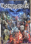 IRON MAIDEN Metal Hammer Magazine FLAG CLOTH POSTER WALL TAPESTRY Heavy Metal