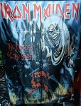 IRON MAIDEN The Number of the Beast FLAG CLOTH POSTER WALL TAPESTRY Heavy Metal
