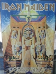 IRON MAIDEN Powerslave LP Cover FLAG CLOTH POSTER WALL TAPESTRY Heavy Metal