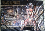 IRON MAIDEN Somewhere in Time FLAG CLOTH POSTER WALL TAPESTRY Heavy Metal