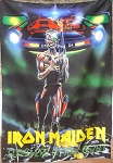 IRON MAIDEN Somewhere on Tour 86/87 FLAG CLOTH POSTER WALL TAPESTRY Heavy Metal